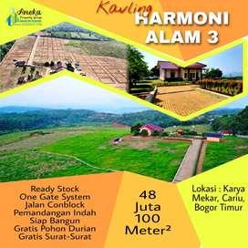Jual Tanah View Bagus Harmoni Alam 3