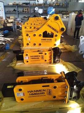 Jual Hydraulic Breaker HANMEN  untuk PC75