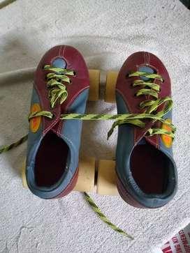 Skating race shoes