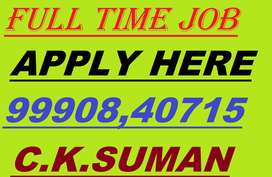 Company job full time apply in helper,store keeper,supervisor call me