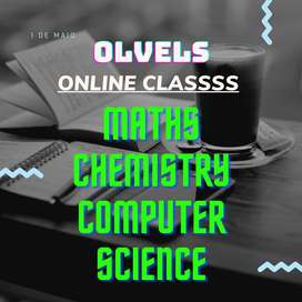 Olevels Maths Chemistry And Computer science