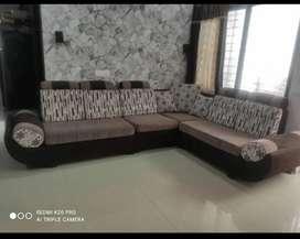 Sofa set, 6 seater