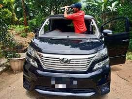 Kaca Mobil Toyota Alphard Kacamobil