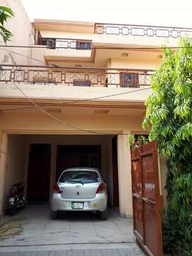 Available for rent first floor of7.5marla house G block Johar Town lhr