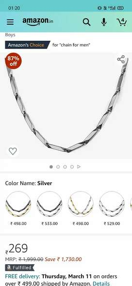 Stylish Chain for boys