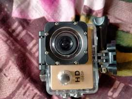 Action camera hd 1080p water proof