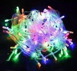 lampu tumblr 10 meter 100 led warna warni