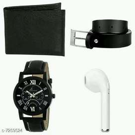 smart headphone Bluetooth watch belt men wallet