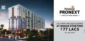 2 BHK Home in Wakad, Pink City road at 77 lacs (all incl),in Project P