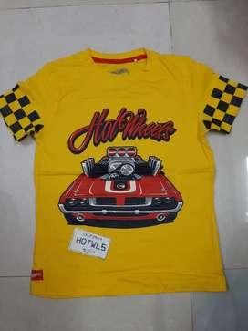 Kids Hotwheels Tshirts In Bulk