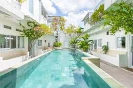 Dijual Guest House Model Villa View Sawah Lokasi Canggu Bali