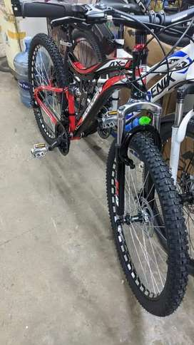All kinds of imported bicycles are available brand new only