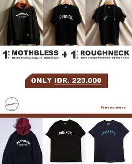 Hoodie, Sweater, Tshirt Original Brand Lokal Indonesia