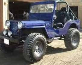 Open Modified willys jeep