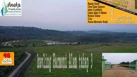 Miliki Tanah Di Bogor Timur cuma 48jt per kavling nya