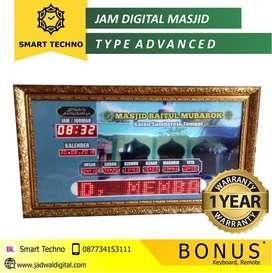Jam Digital Masjid Akurasi 100 Tahun Untuk Daerah Cirebon