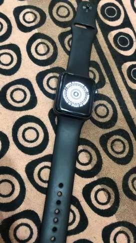 Apple watch 3series bilkul saf with all accessorie.