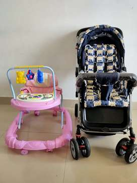 Stroller and Baby Walker