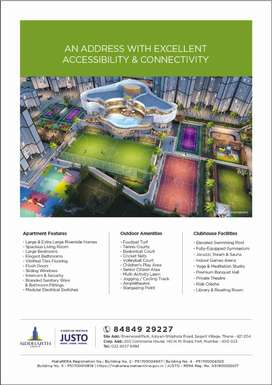 2 BHK in Riverwood Park Starting at 60 lacs.