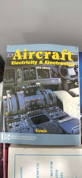 AIRCRAFT MAINTANCE BOOKS