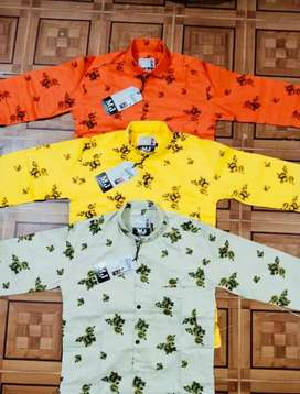 Printed shirts available in wholesale rates.