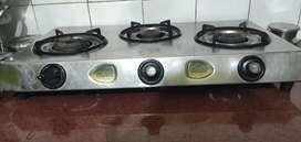 Gas stove  3 Burner
