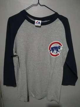 Tshirt reglan Majestic Baseball