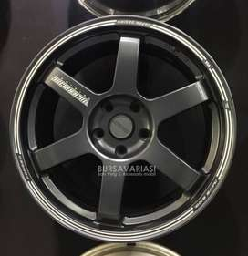 TE-37 SA GA-01 R18 5x114.3 Wuling Almaz Cortez Mazda CX Voxy