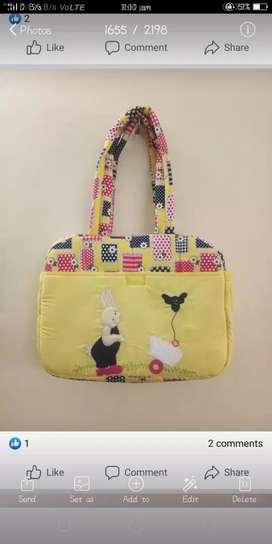 Handmade bag and purse