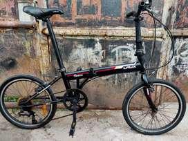Sepeda lipat laux venice ukuran 20