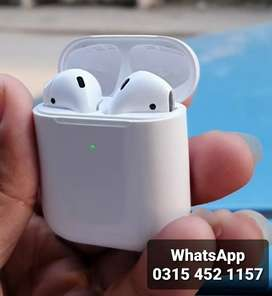 Applle Airpods 2nd Gn premium Quality longer Battery with Warranty