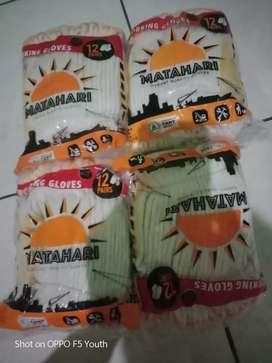 Sarung tangan cap matahari 1 plastik isi 12 pcs