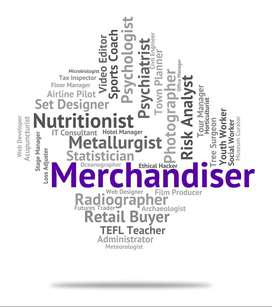 Merchandiser Required For Garment Export Company.