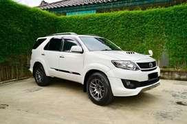 Toyota Fortuner VNT TRD 2013 Full Spec Modif Modifikasi Dastek Low KM