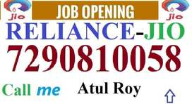 Reliance Jio job Full time job apply in helper,store keeper,supervisor