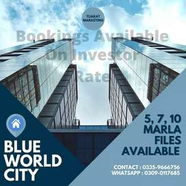 Blue World City Housing Society.
