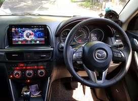 UPGRADE AUDIO HEAD UNIT 2DIN BEST ANDROID TV SPEC9.1 GPS MAZDA CX5