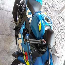 Gsx R 150 biru motogp