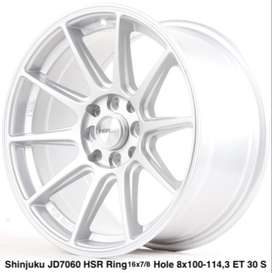 model SHINJUKU JD7060 HSR R16X7/8 H8X100-114,3 ET35/30 SILVER