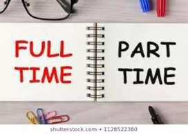 PART/FULL TIME WORK