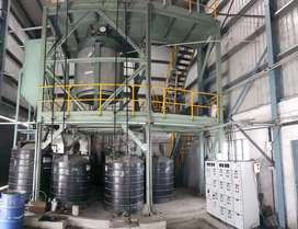 Running biodiesel and sanitizer manufacturing plant