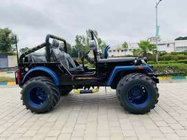 Open Modified Jeep ready on order only