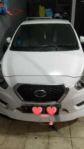 Datsun 2 Baris GO Panca 1.2 TOption 2015 White Plat T Kilometer Rendah