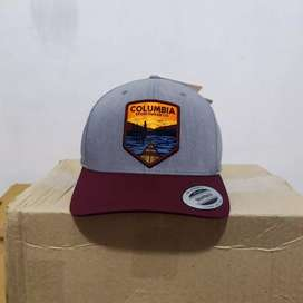 Topi columbia trucker snap back hat original patagonia the north face