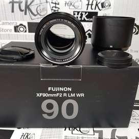 Fujifilm Fujinon XF 90mm F2 R LM WR Lens ex FFID