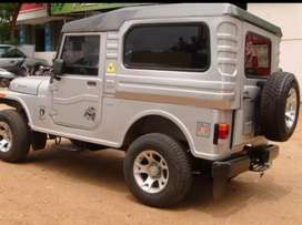 Mahindra modidied jeep