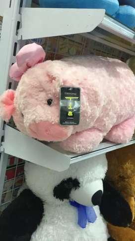 Boneka babi pink