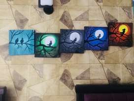 SKZ wall hangings hand painted