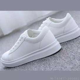 Sepatu Wanita Sneaker COD Putih Laris Gratis Ongkir