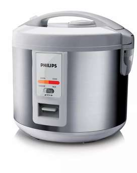 Philips Daily Collection Variety Rice Cooker HD3027 (Silver)